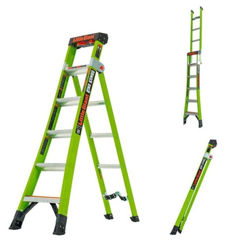 Little Giant King Kombo 3-in-1 Step, Leaning & Extension Ladder