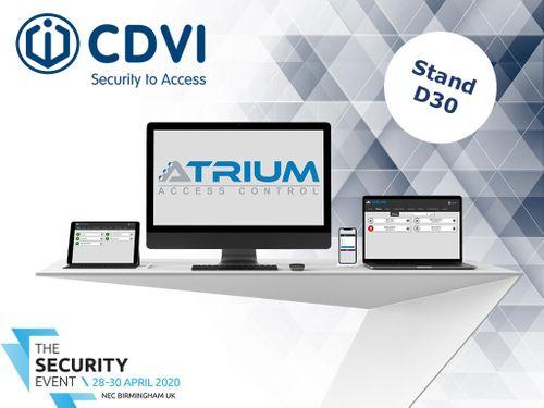 CDVI Announces New Features to ATRIUM Access Control