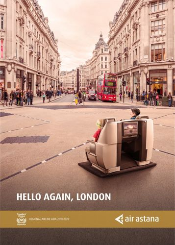Air Astana resumes flights to London