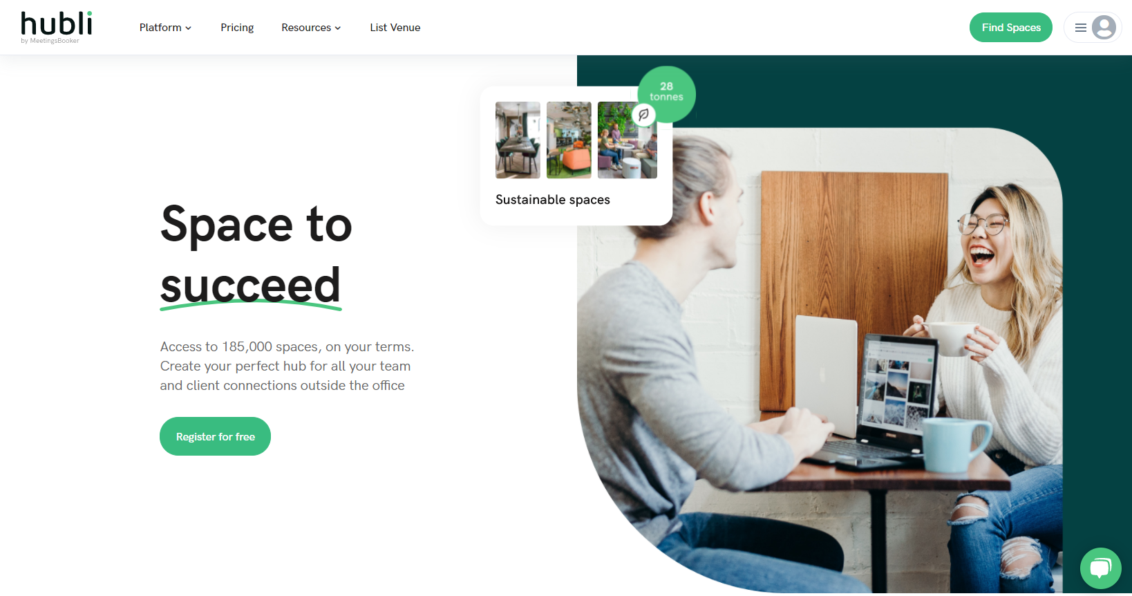 Meetingsbooker launches new brand Hubli