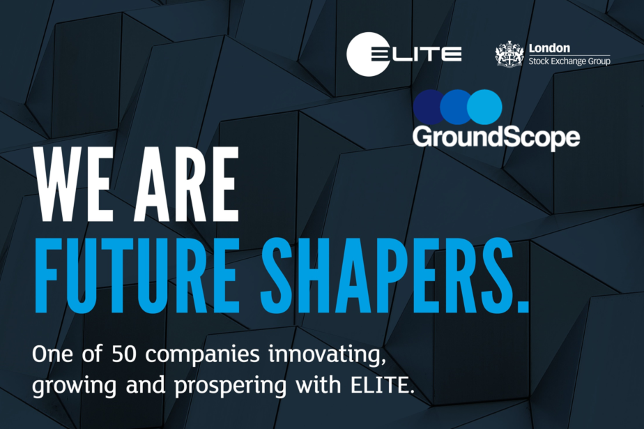 GroundScope named one of only 50 ELITE 'Future Shapers'