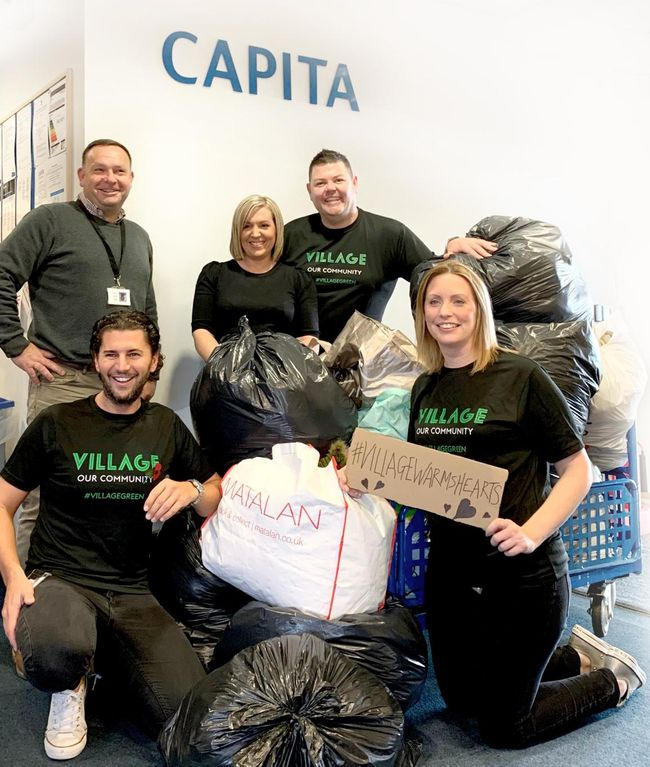 Keeping hundreds warm over winter with coat donations