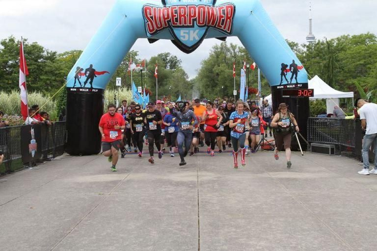 BEST NEW SPORTS EVENT:  2018 SuperPower 5K, Toronto, Ontario
