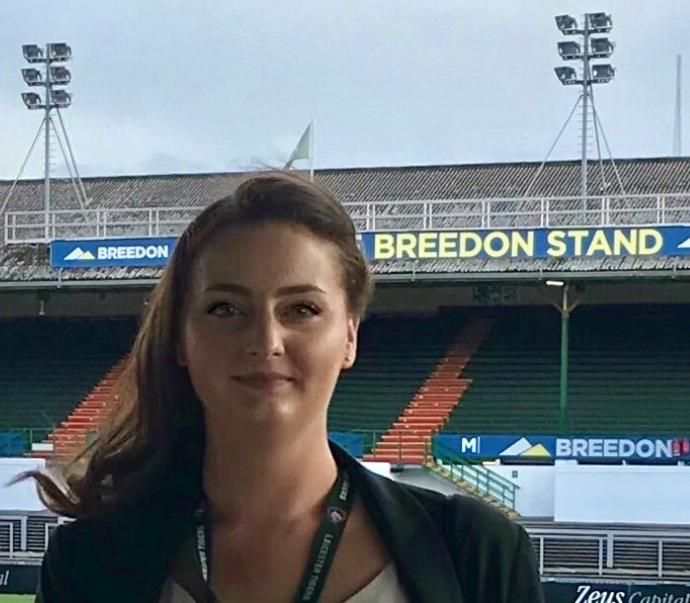One Day With – Claire Bates, Leicester Tigers Stadium