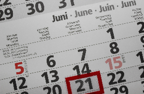 June dates for your diary
