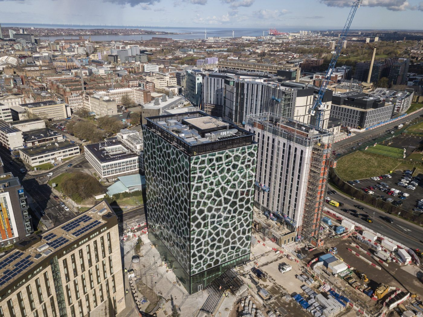 Liverpool's new Mayor and the City Region's Metro Mayor will officially open one of the world's healthiest buildings today (Friday, 21 May).