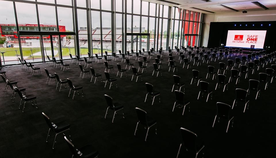 Emirates Old Trafford urges guests to get their 'game face' on as live events return