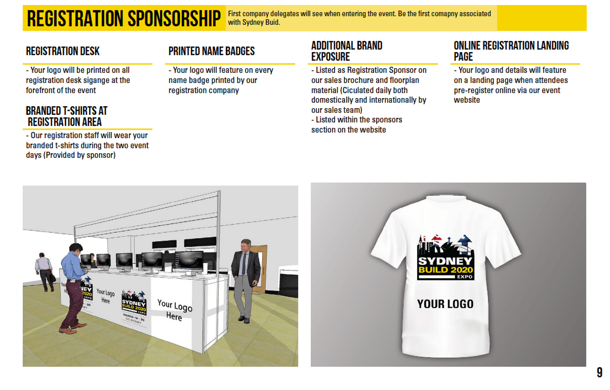 Registration Sponsorship