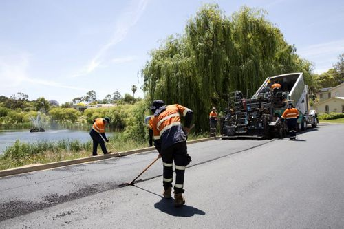 First South Australian road built with plastic bags and glass
