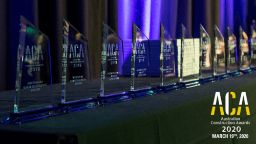 Nominations for Australian Construction Awards 2020 are now OPEN
