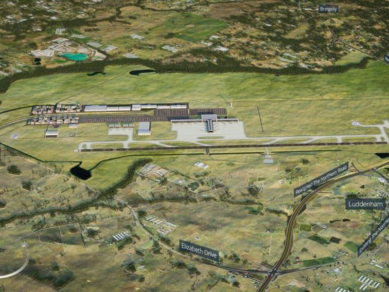 Metro rail line to Western Sydney in time for airport