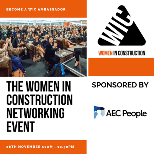 WOMEN IN CONSTRUCTION PANEL & NETWORKING EVENT