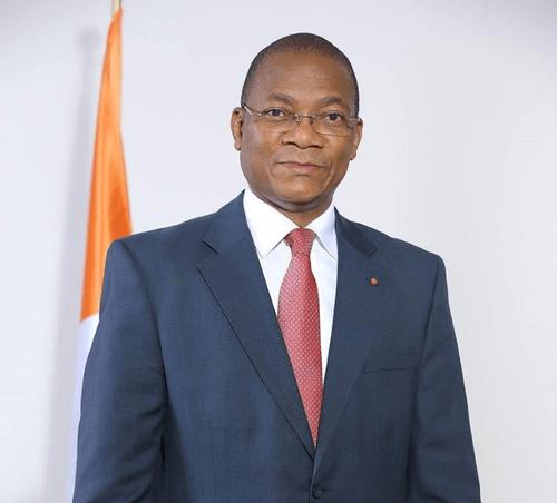 Honourable Minister, M. Bruno Nabagné KONE