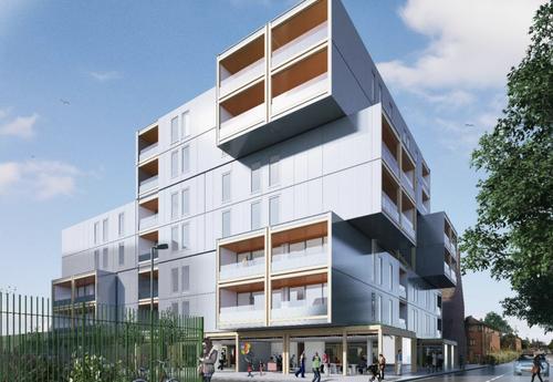 Caledonian wins £27m London modular housing trio