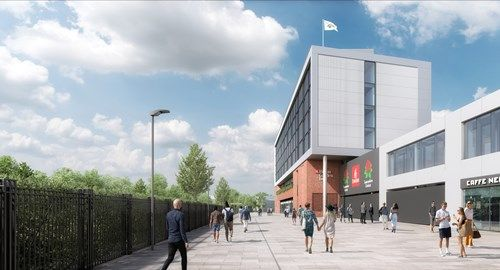 Go-ahead for new stadium at Emirates Old Trafford