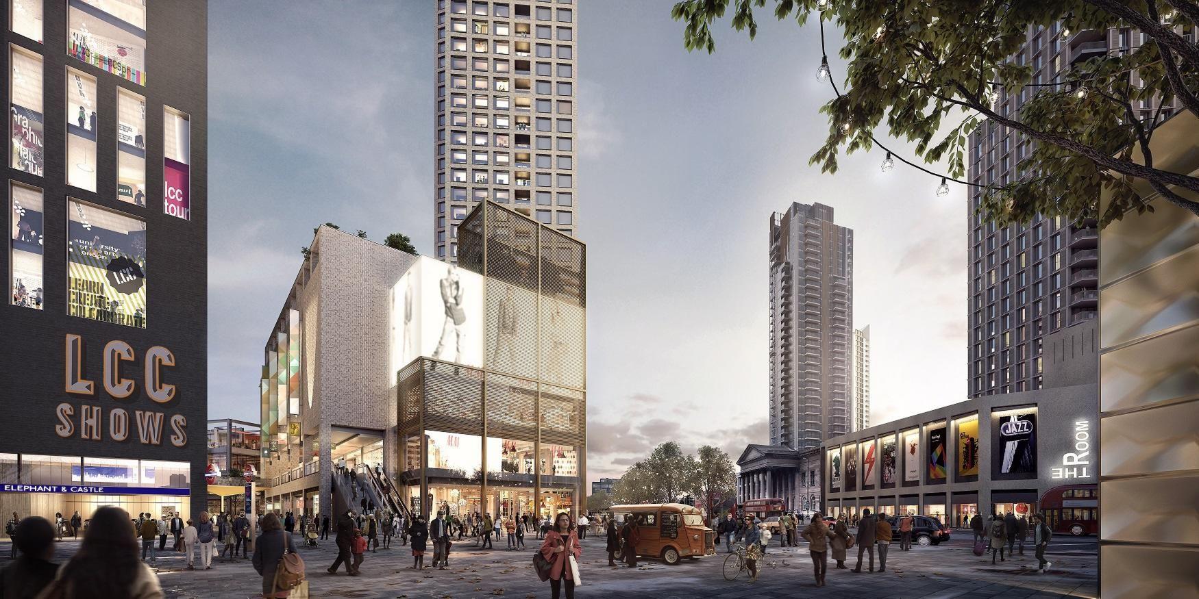 Green light for Elephant & Castle £3bn regeneration project