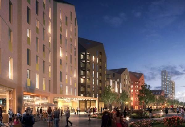 Plans in for Nottingham £300m Boots Island scheme