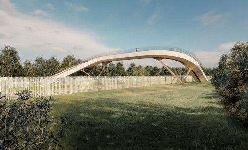Innovative Railway Footbridge Is Unveiled