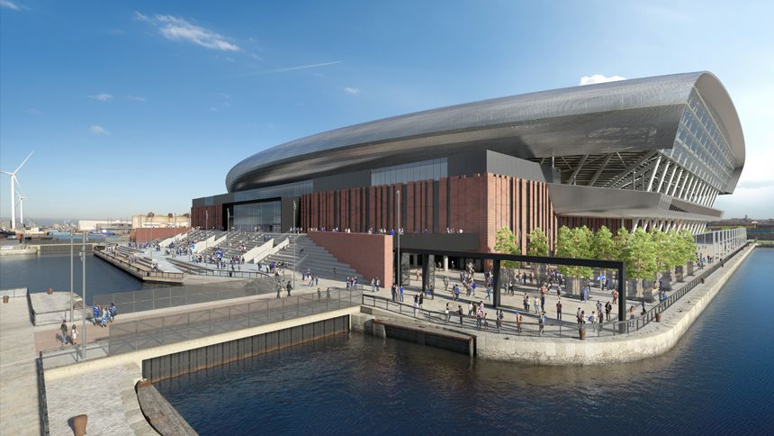 Everton's new 52,888 capacity stadium build date confirmed