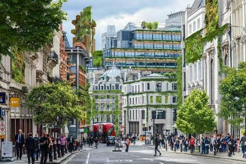 Envisioning green cities in the UK