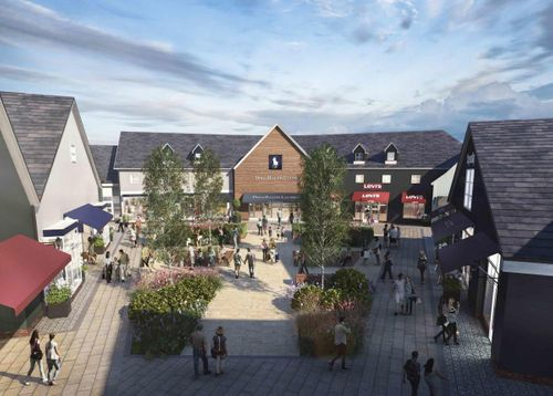 Revealed: £7m revamp and new name for Gretna Gateway Outlet Village