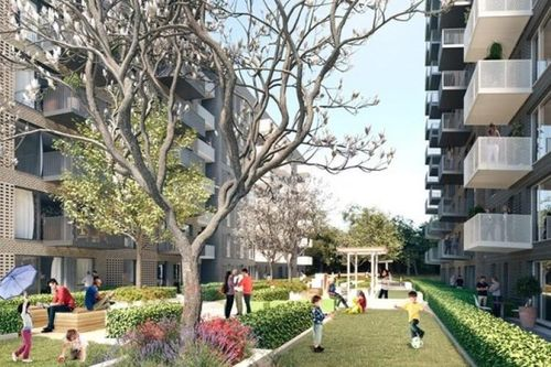 TfL and Notting Hill Genesis have been given planning permission to build eight blocks of flats in South East London