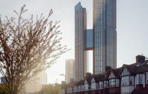 KPF's skyline-altering residential towers get green-lit in London
