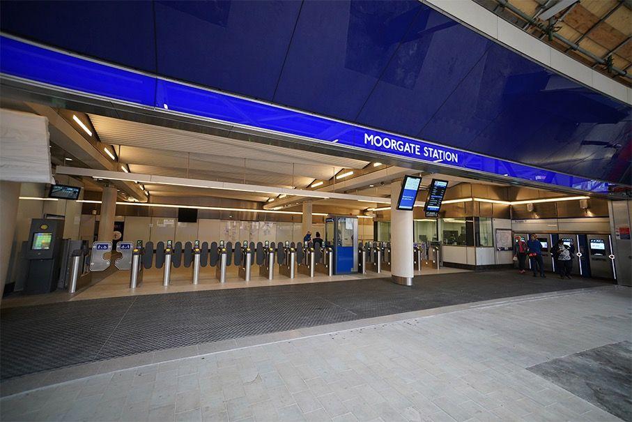 Construction complete on Liverpool Street Elizabeth line station