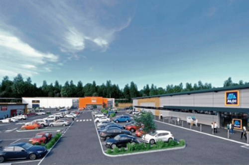 MCS Group starts construction of retail park at former gasworks site