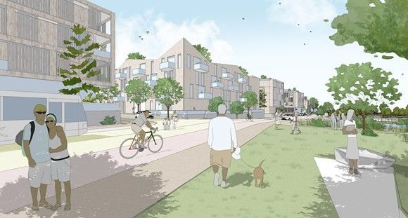 Planning application submitted for new neighbourhood