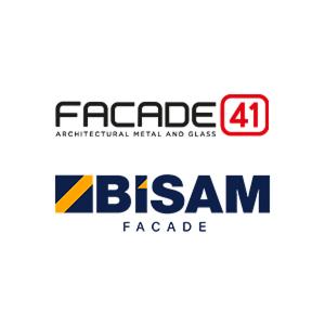 FACADE41 Metal & Glass LLC & BISAM FACADE Aluminum Systems