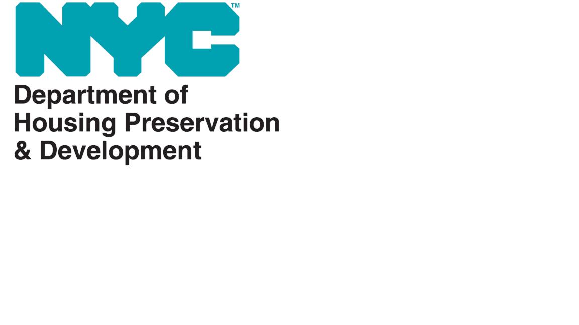 Housing Preservation & Development