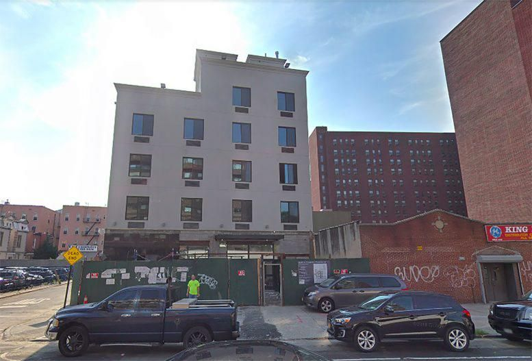 New Construction Permits Filed For 1998 Webster Avenue In The West Bronx