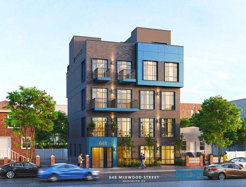 New renderings revealed for residential building at 648 Midwood Street in Wingate, Brooklyn