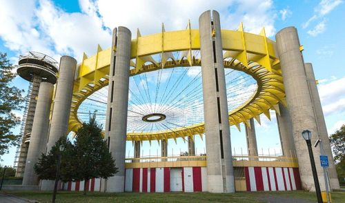 Restoration of Philip Johnson's 1964 New York State Pavilion will begin this month
