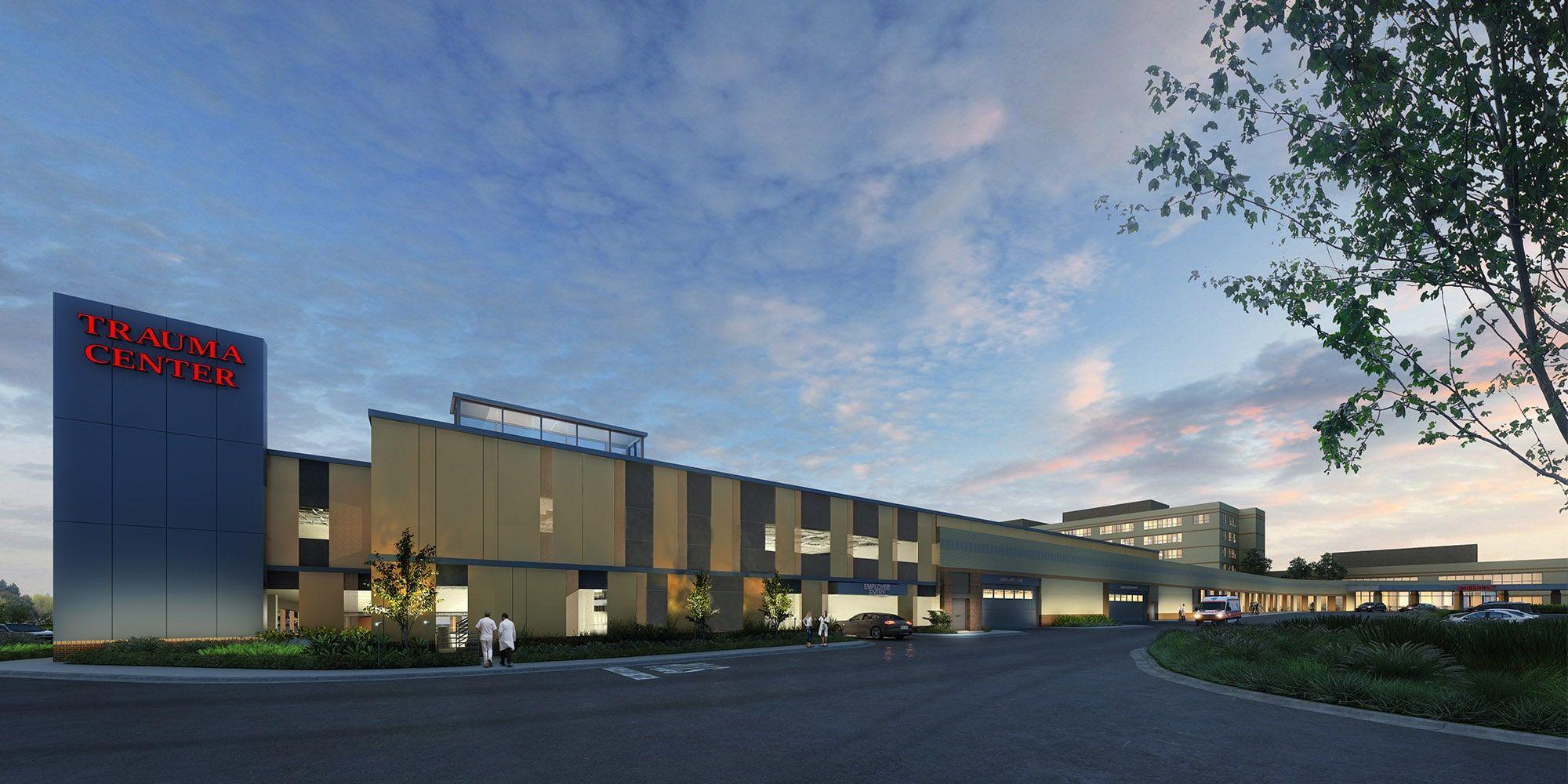 Expansion of Garnet Health Parking Garage
