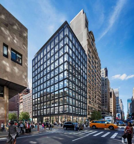 SOM's 12-Story Office Building Nears Completion