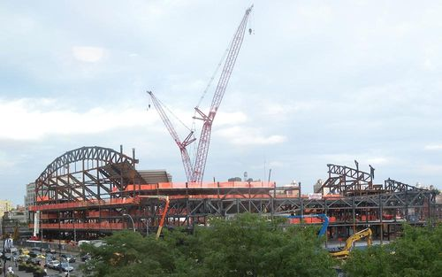 Construction on Brooklyn's Pacific Park project moves full steam ahead