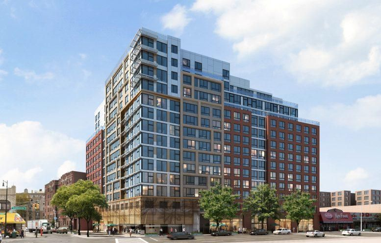 Caton Flats Tops Out Ahead Of Schedule At 800 Flatbush Avenue In Flatbush, Brooklyn