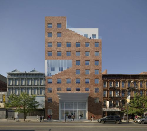 Innovative architect Sou Fujimoto designs cut-away building to replace Slave Theater in Bed Stuy
