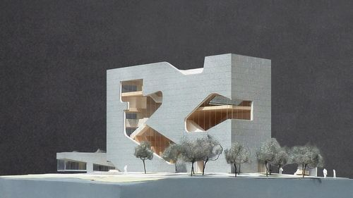Steven Holl Architects' library and park to bridge the generation gap in New York City