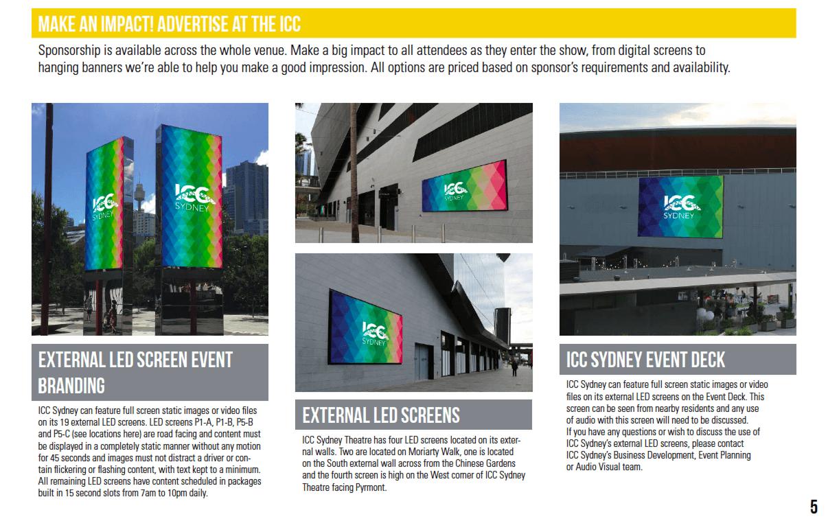 ICC Sponsorship