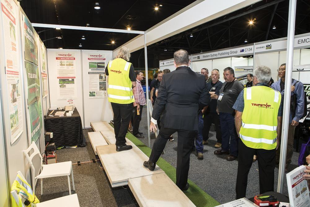 Sydney Build Shell Scheme Booth