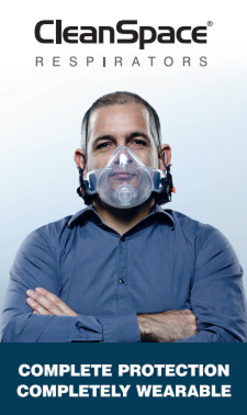 CLEANSPACE ULTRA RESPIRATOR PROTECTS AGAINST SILICA