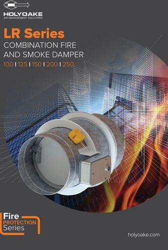 LR Series Circular Fire/Smoke Dampers