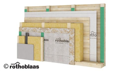 Modern solutions for waterproofing and air tightness of timber buildings