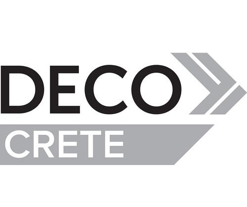 """New Concrete Finish """"DecoCrete"""" by DECO"""