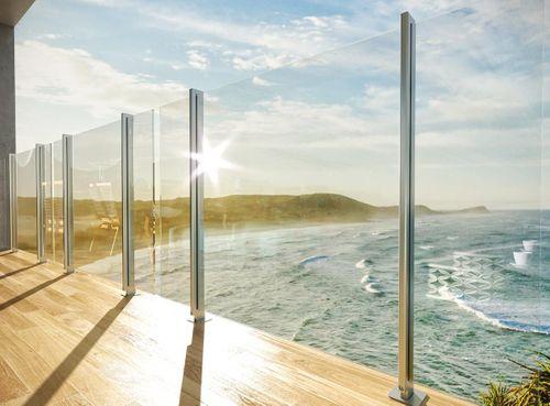 World's safest glass balustrade system at BUILD