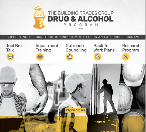 Supporting the construction industry with drug and alcohol awareness