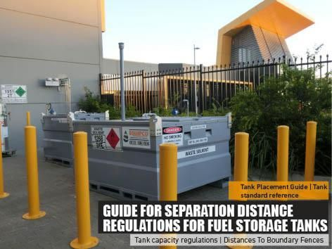 Guide For Separation Distance Regulations For Fuel Storage Tanks